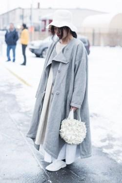 Neutral Gray - New York Fashion Week by Armenyl.com