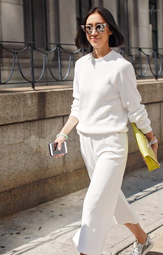 Eva Chen Street style at NYFW 2015 Photo by Armenyl.com
