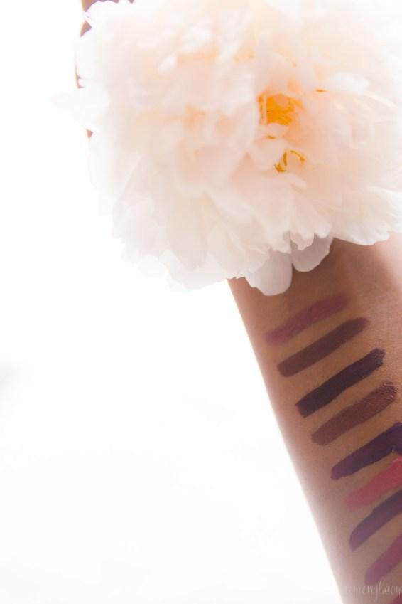 Armenyl's Favorite liquid matte Lipsticks featuring colorpop cosmetics and coloured raine Roulette, Raine Fever, Cherry Blossom, Mars