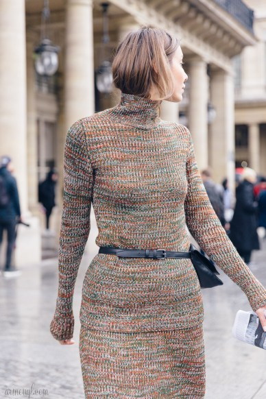 Street style looks from Paris Fashion Week Photographed by Armenyl.com