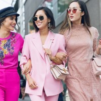 All the times people wore pink at NY Fashion Week SS 2018
