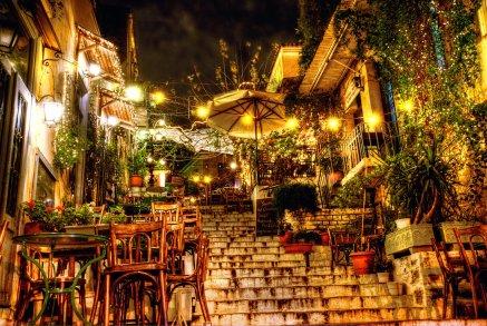 Plaka Nightlife Area