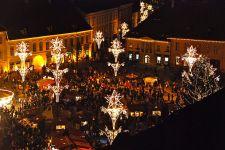 Sibiu Romania Christmas Market