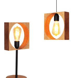 Pack Combino: Suspension + Lampe à poser armin home