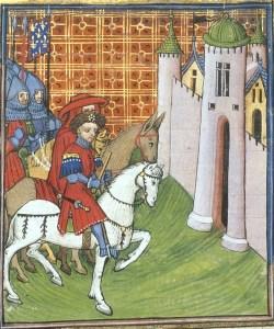 Bastoncello - Chroniques de France ou de St Denis, Royal Ms. 20 C VII