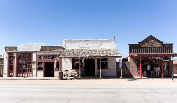 Saloon in Tombstone, AZ