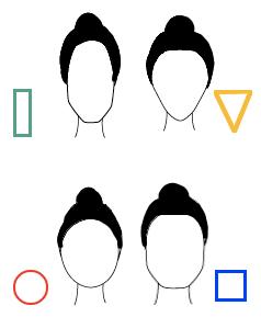 Il taglio giusto per la forma del tuo viso