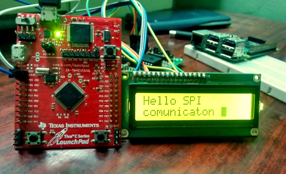 SPI communication in TM4C123GH6PM – ARM Of Things