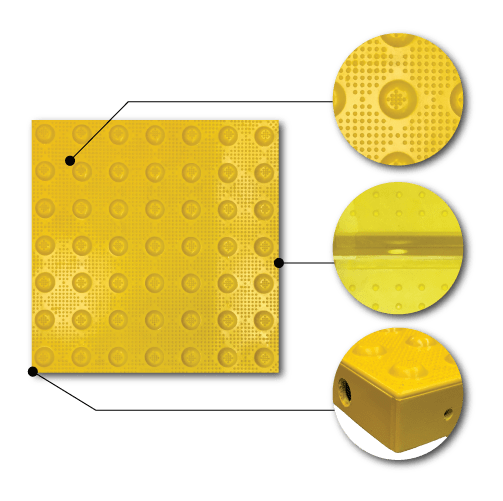 detectable warning surfaces armor tile
