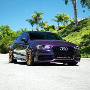 Audi S3 ZF01 19x10 Sunburst Gold Federal RS-RR