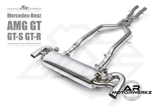 Fi Exhaust AMG GT GTS GTR C190 Full Valved