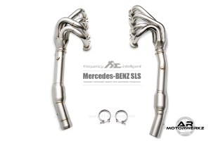 Fi Exhaust AMG SLS Front
