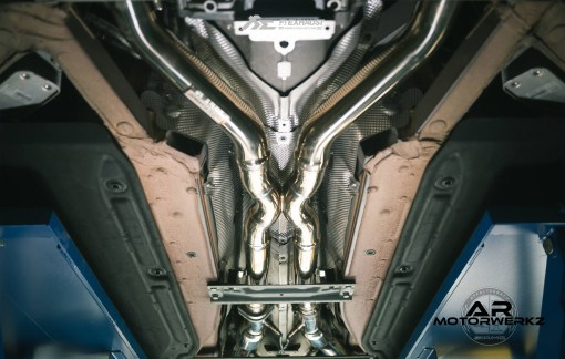 Fi Exhaust AMG SLS