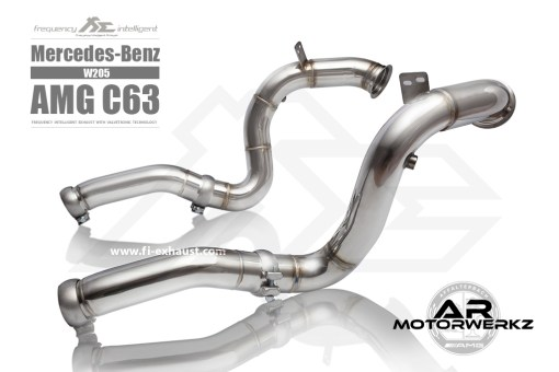 Fi Exhaust C63 AMG W205 front