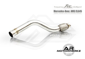 Fi Exhaust CLA45 AMG W117 Front