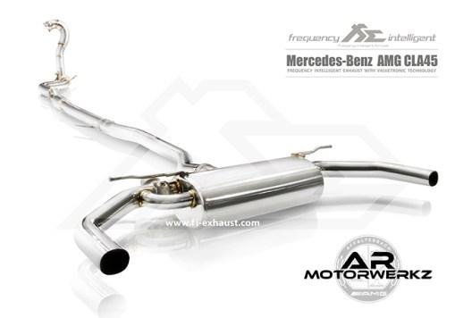 Fi Exhaust CLA45 AMG W117 Full