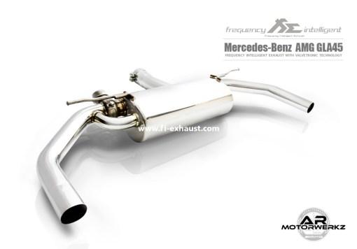 Fi Exhaust GLA45 AMG W156 Muffler