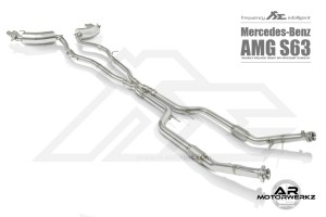 Fi Exhaust S63 AMG Coupe C217 Full 2