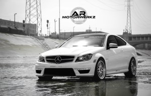 W204 C63 AMG COUPE BBS LM'S