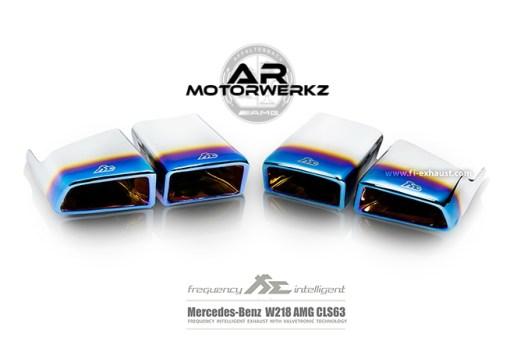 Mercedes Benz CLS63 AMG FI Exhaust Tips