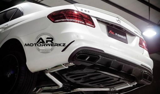 Mercedes Benz E63 AMG FI Exhaust