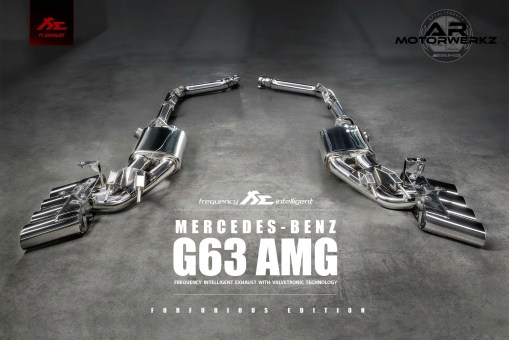 Mercedes Benz G63 AMG FI Exhuast