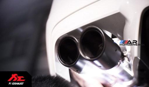 fi valveronic exhaust bmw f10 m5