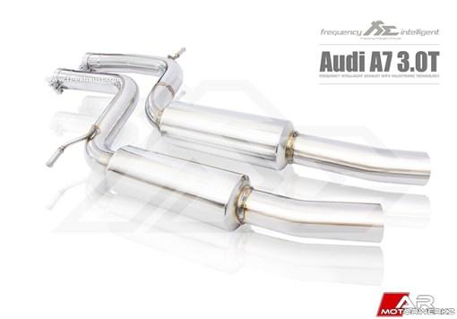 Audi C7 A7 Fi Exhaust Valvetronic Valved