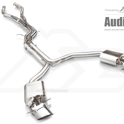 Audi C7 RS6 Fi EXHAUST Valvetronic Valved