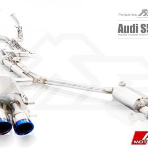 AUDI B8 S5 FI EXHAUST VALVTRONIC CATBACK VALVED