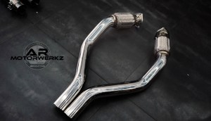 fi exhaust system downpipe catback mercedes benz amg class frequency intelligent ar motorwerkz