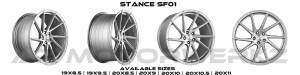 stance sf01 brush face silver