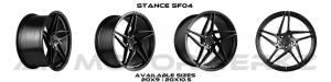 Stance SF04 SATIN BLACK