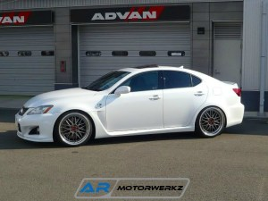 bbs wheels lexus is-f