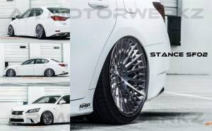stance sf02 lexus gs 350