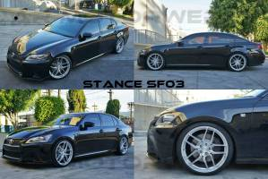 stance sf03 lexus gs350