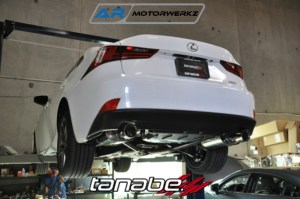 tanabe exhaust lexus is350