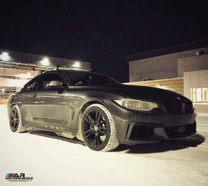 BMW 435 snow tires