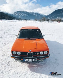 BMW E12 525 Snow Tires