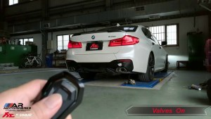 BMW G30 540i FI Exhaust
