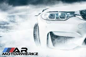 BMW M3 in Snow