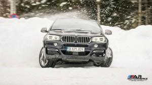BMW X6 M50D Snow Tires