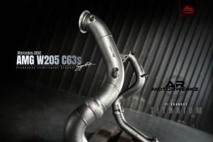 Mercedes C63 AMG - FI Exhausts