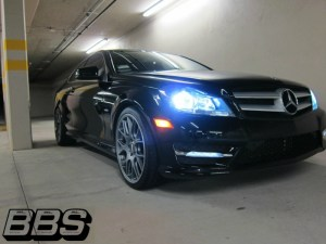 Mercedes C350 Coupe - BBS CHR