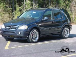 Mercedes ML - BBS LM