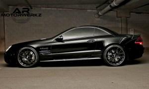 Mercedes SL55 AMG - BBS CH-R