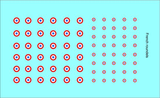 Black Lion Decals 1/72nd French Roundels