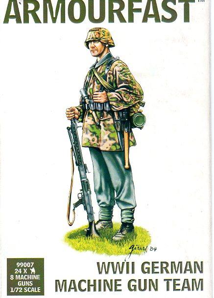 German Machine Gun Team