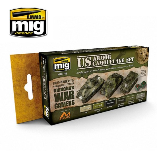 Wargame US Armour Set