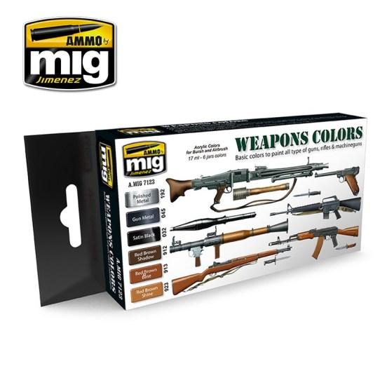 Weapon Colours